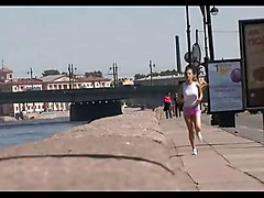 Jogging Teen analised creampied Awsome
