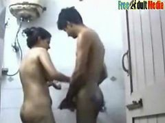 Indian Desi Mallu Shower Fucking