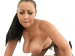 Danica machine fucked in STW pantyhose