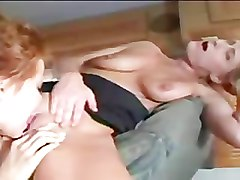 Blonde MILF seduces exchange student in an RV