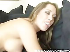 Capri Cavalli seduces pizza guy