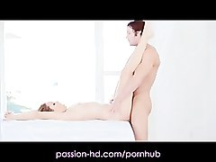 Passion-HD Hot Blonde Gets Tantric Massage