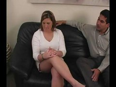 Blonde Office Worker Haley Wants A Promotion But Has To Get Spanked
