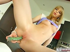 all internal shy newcomer gets pussy injected with cum