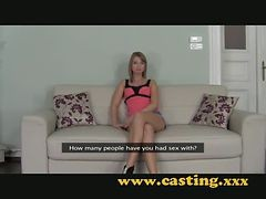 Casting - He Tells Boyfriend To Leave And Fucks Her