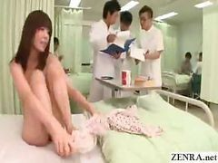 Teen Japanese Female Is Instructed By Doctors To Become A Nudist