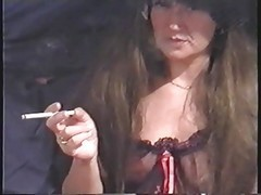 Mature Wife Smoking During Sex