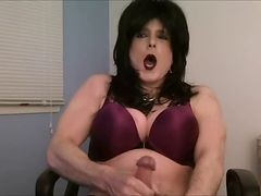 Transvestit Onani Jerking Dress