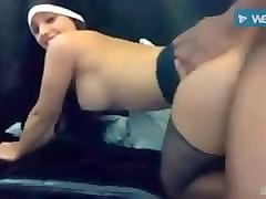 suck and fuck in nun costume live on webcam part2. must see!