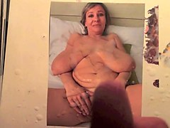 barbara big hanging boobs milf cum tribute 1