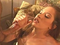 Gwen First Handjob & Facial-smile
