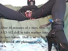 the asd-102 anonymous sissy doll - self pleasure mode