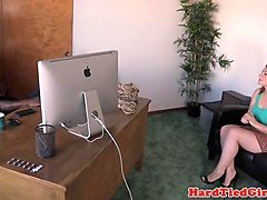 nt submissive caned and whipped while tied up