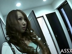 hot and hairy asian wife getting fucked by a lover
