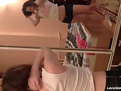 hot teen girlfriend gets drilled at home