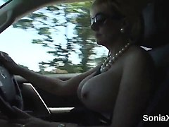 unfaithful british mature lady sonia exposes her big natural