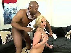 bodacious blonde mom gets fucked the way she loves it by a black bull