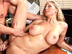 Julia Ann in Office Seductions #02, Scene #01 - SweetSinner