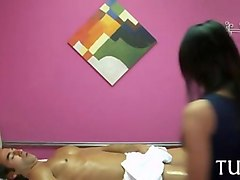 dirty games in massage saloon video film 1