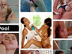 Relaxxxed - Hot oil massage with lesbians Ashely Love and Katy Rose