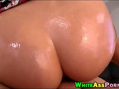 bubble butt blondie whore pussy banged by huge hard dick