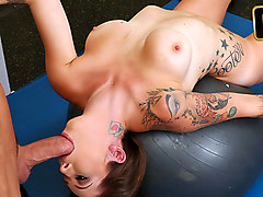 Callie in Fucking For Gym Memberships - TeamSkeet