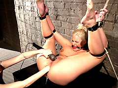 Exotic anal, blonde porn movie with amazing pornstars Phoenix Marie and Princess Donna Dolore from Wiredpussy