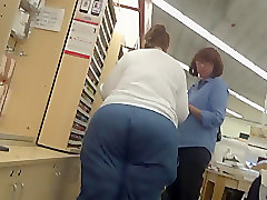 SSBBW Big Ass Blue Bend