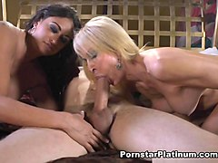 Claudia Valentine in Sharing A Cock with Erica - PornstarPlatinum