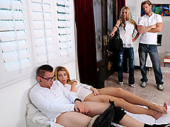 Alina West3 in Family Game Night - TeamSkeet