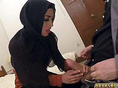 arab babe cant pay her rent