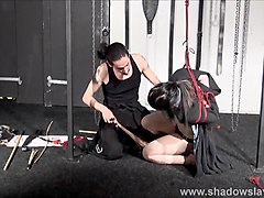 Whipped asian ###girl Devils teen bdsm and suspension bondage of japanese submissive in hard spanking and restrained o