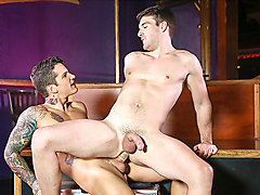 Dustin Holloway & Pierre Fitch in Men In Canada Part 2 - DrillMyHole