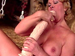 kinky crazy nuts grannies go hard with monster dildos
