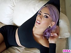 Purple Hair Janice Griffith Fucking