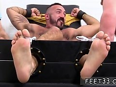 gay dudes with big feet in miami alessio revenge tickled