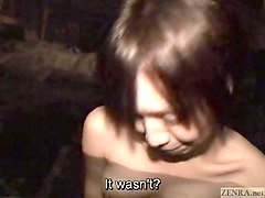 subtitled first time japanese lesbian hot spring bathing