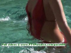 Haley And Hayden Awesome Lesbians Gatting Naked And Having Fun In The Pool