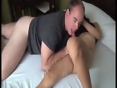 Asian ladyboy fucks white guy