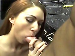 Double Tongue Piercing Blow Job