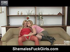 thais&milly tranny fucks lady action