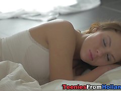 European teen creampied