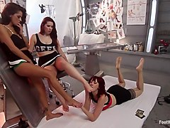 Lesbian Foot Lab: Maitresse Madeline Submits To Feet!