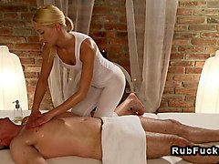 old guy gets erotic massage anf fuck