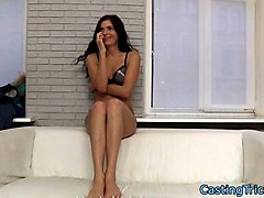real casting teen strips for the camera