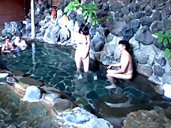 beautiful wife that remains is left in mixed bathing clip video 1