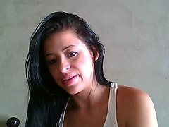 all alone cam dark haired nympho wanted to masturbate just a bit