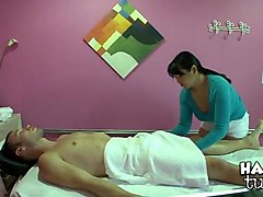 filthy games in massage saloon