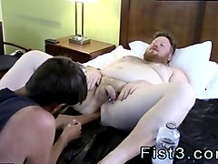wetsuit fetish hot boy gay first time sky works brocks hole with his fist