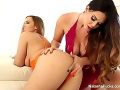 natasha gets her wet pussy licked out by alison